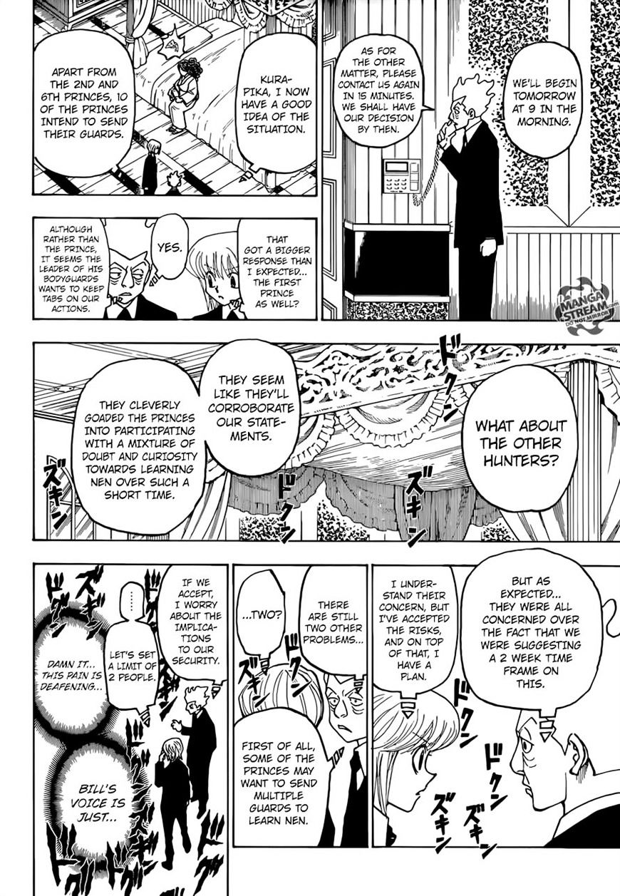 Hunter X Hunter Chapter 368  Online Free Manga Read Image 13