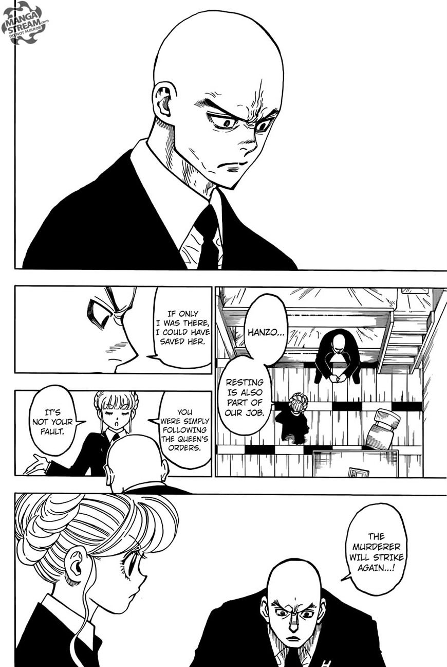 Hunter X Hunter Chapter 368  Online Free Manga Read Image 15