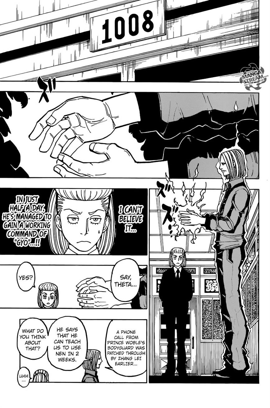 Hunter X Hunter Chapter 368  Online Free Manga Read Image 18
