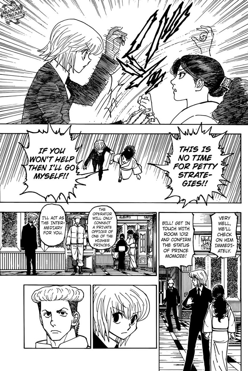 Hunter X Hunter Chapter 368  Online Free Manga Read Image 6
