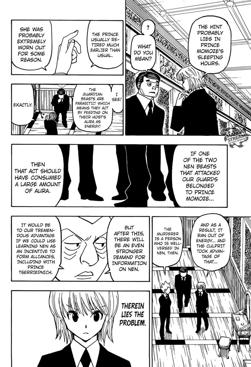 Hunter X Hunter Chapter 368  Online Free Manga Read Image 9