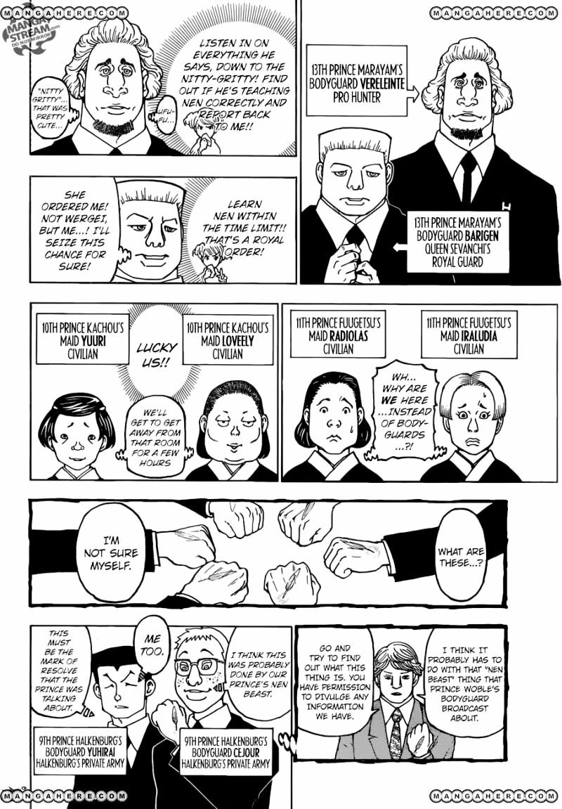 Hunter X Hunter Chapter 369  Online Free Manga Read Image 17