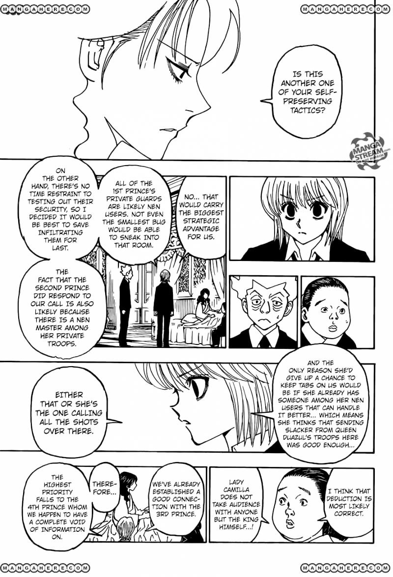 Hunter X Hunter Chapter 369  Online Free Manga Read Image 8