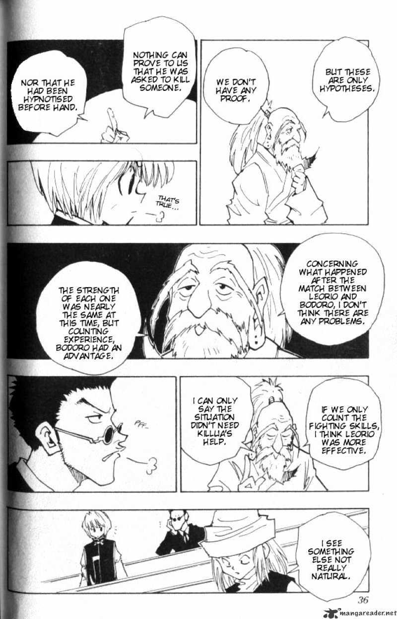 Hunter X Hunter Chapter 37  Online Free Manga Read Image 11