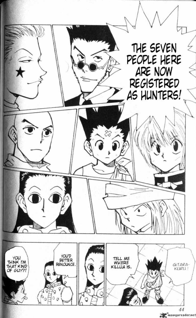Hunter X Hunter Chapter 37  Online Free Manga Read Image 19