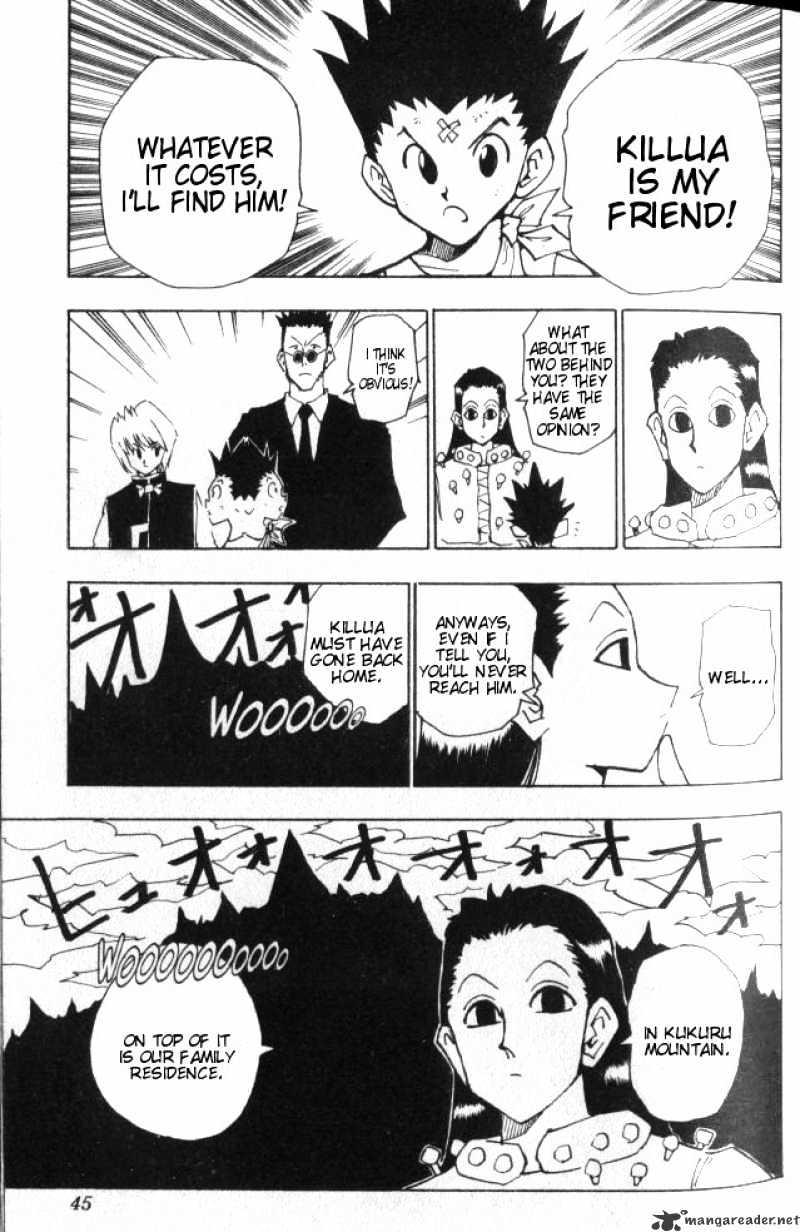Hunter X Hunter Chapter 37  Online Free Manga Read Image 20