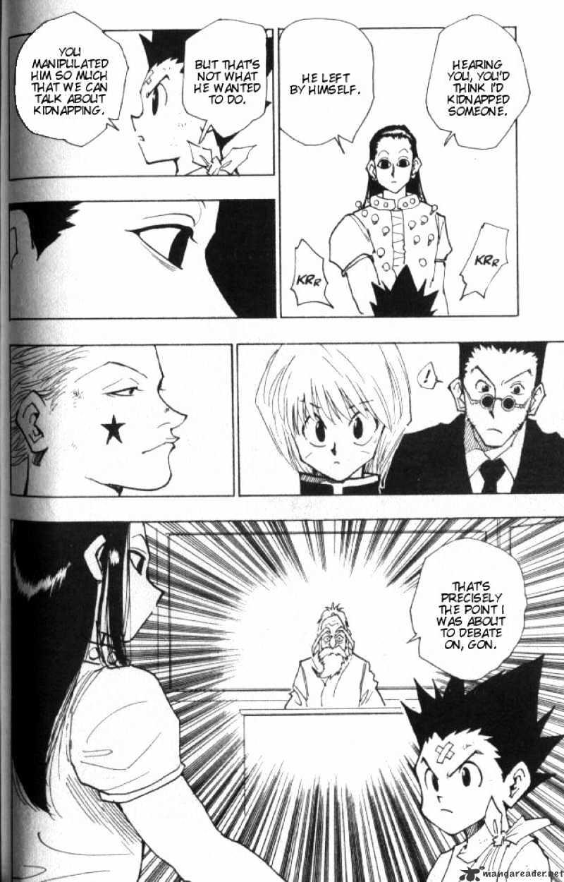 Hunter X Hunter Chapter 37  Online Free Manga Read Image 9