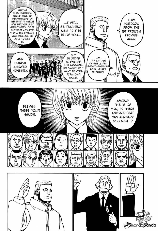 Hunter X Hunter Chapter 370  Online Free Manga Read Image 11