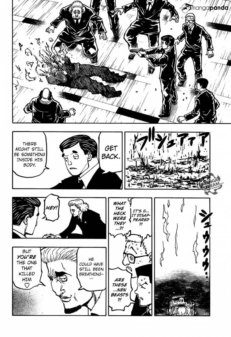 Hunter X Hunter Chapter 370  Online Free Manga Read Image 19