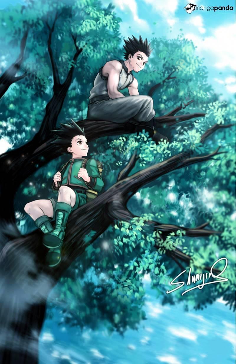 Hunter X Hunter Chapter 370  Online Free Manga Read Image 2