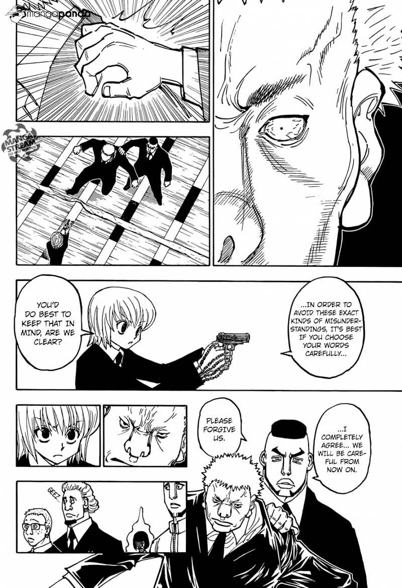 Hunter X Hunter Chapter 370  Online Free Manga Read Image 7