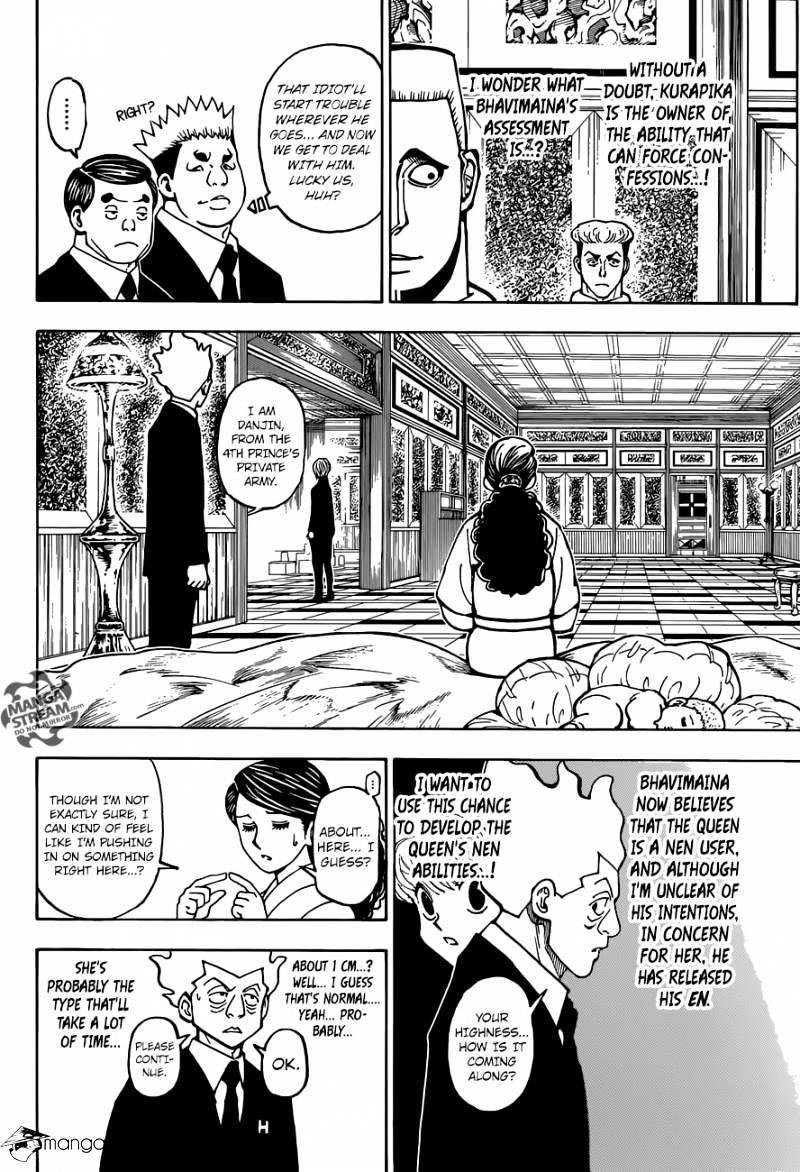 Hunter X Hunter Chapter 370  Online Free Manga Read Image 9