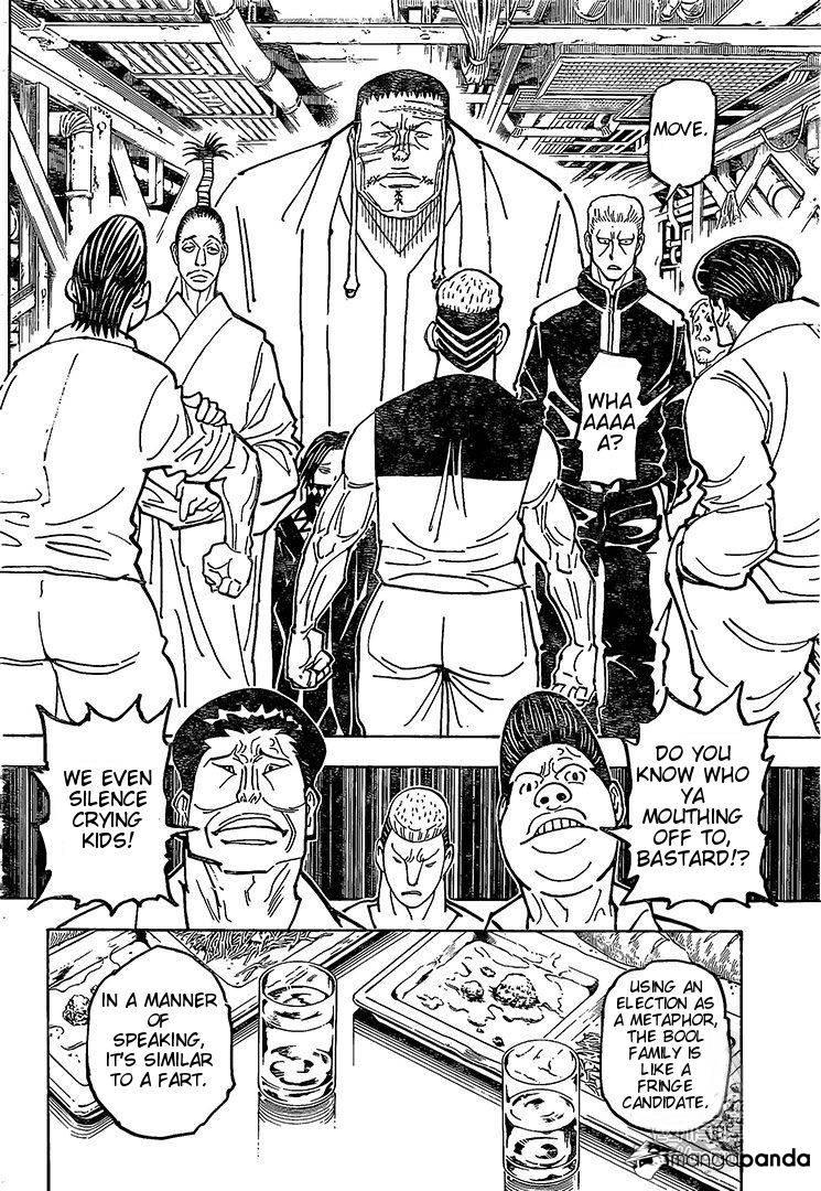 Hunter X Hunter Chapter 371  Online Free Manga Read Image 11