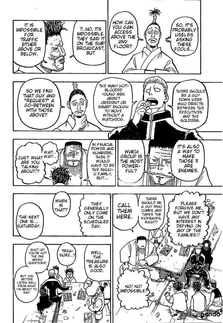 Hunter X Hunter Chapter 371  Online Free Manga Read Image 13