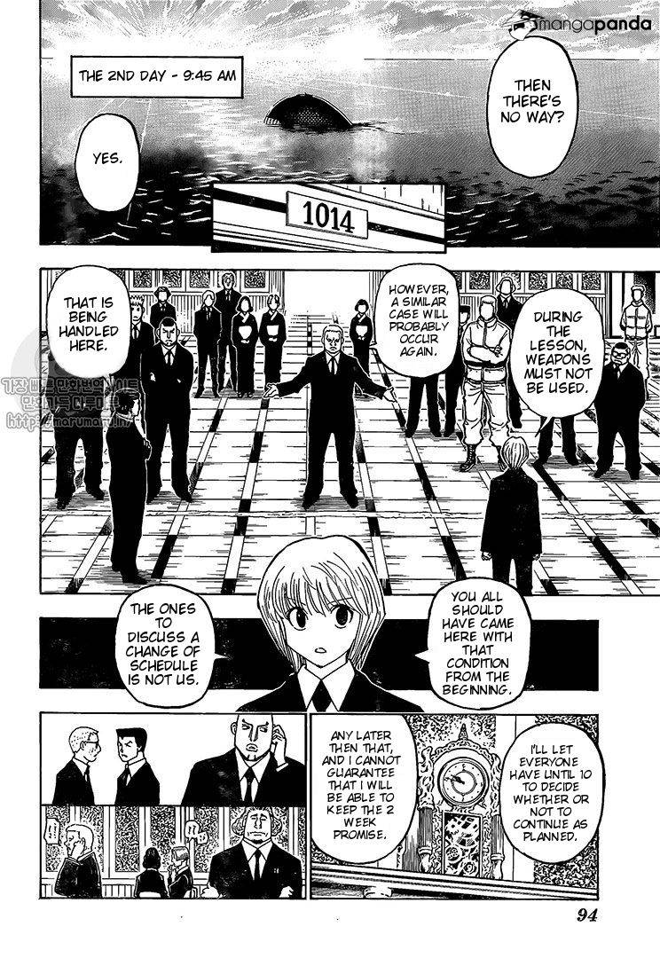 Hunter X Hunter Chapter 371  Online Free Manga Read Image 3