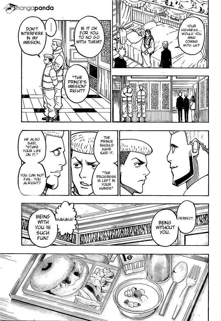 Hunter X Hunter Chapter 371  Online Free Manga Read Image 4