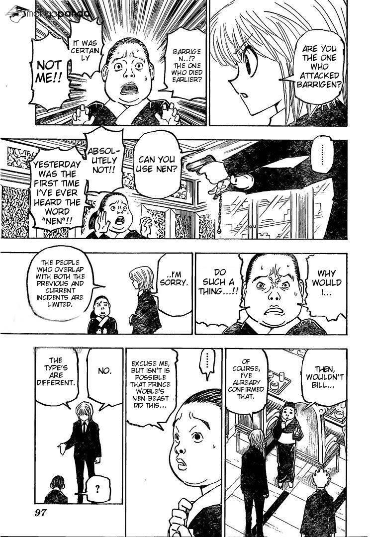 Hunter X Hunter Chapter 371  Online Free Manga Read Image 6