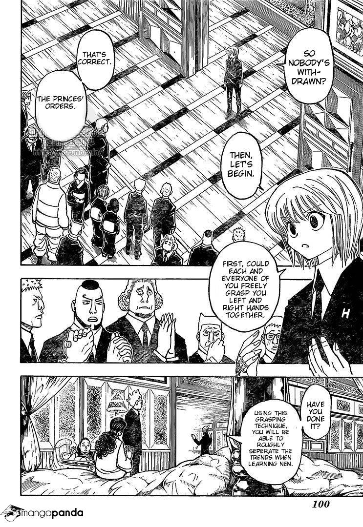 Hunter X Hunter Chapter 371  Online Free Manga Read Image 8