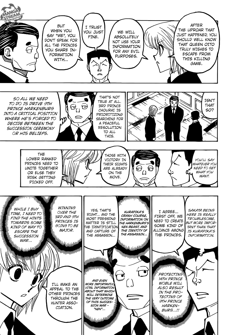 Hunter X Hunter Chapter 372  Online Free Manga Read Image 16