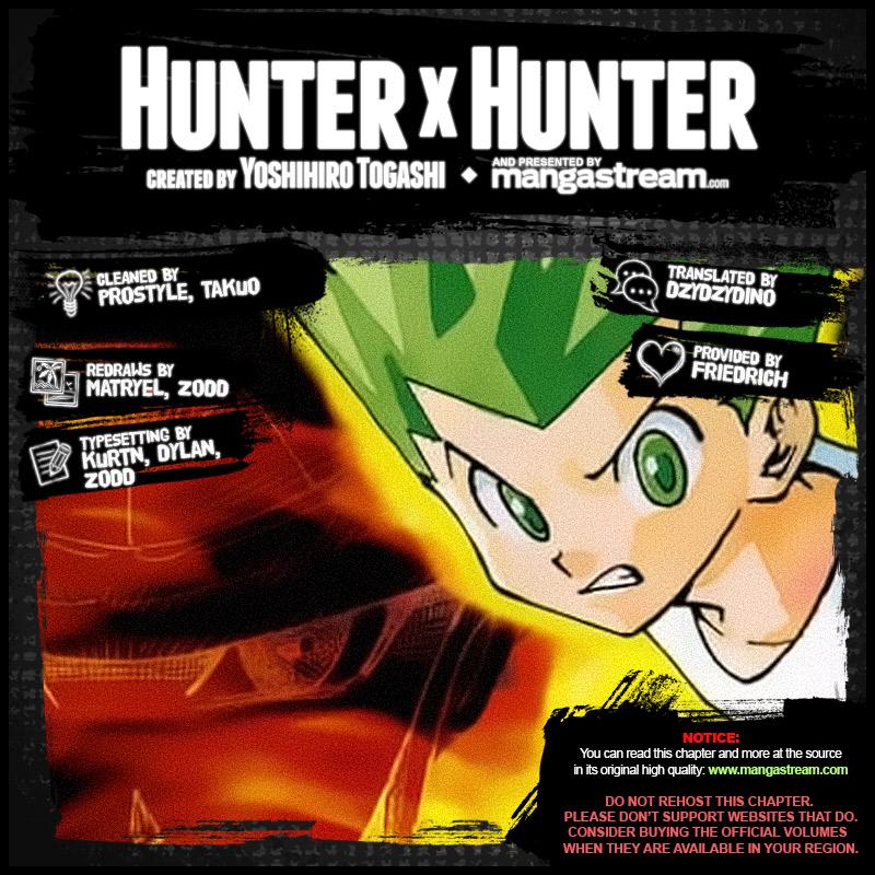 Hunter X Hunter Chapter 372  Online Free Manga Read Image 2
