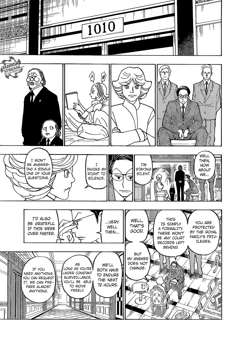 Hunter X Hunter Chapter 372  Online Free Manga Read Image 4