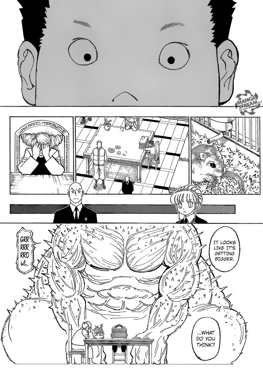 Hunter X Hunter Chapter 372  Online Free Manga Read Image 5