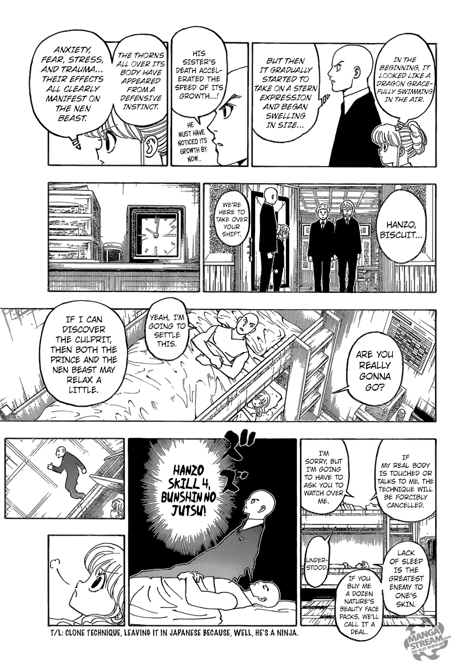 Hunter X Hunter Chapter 372  Online Free Manga Read Image 6