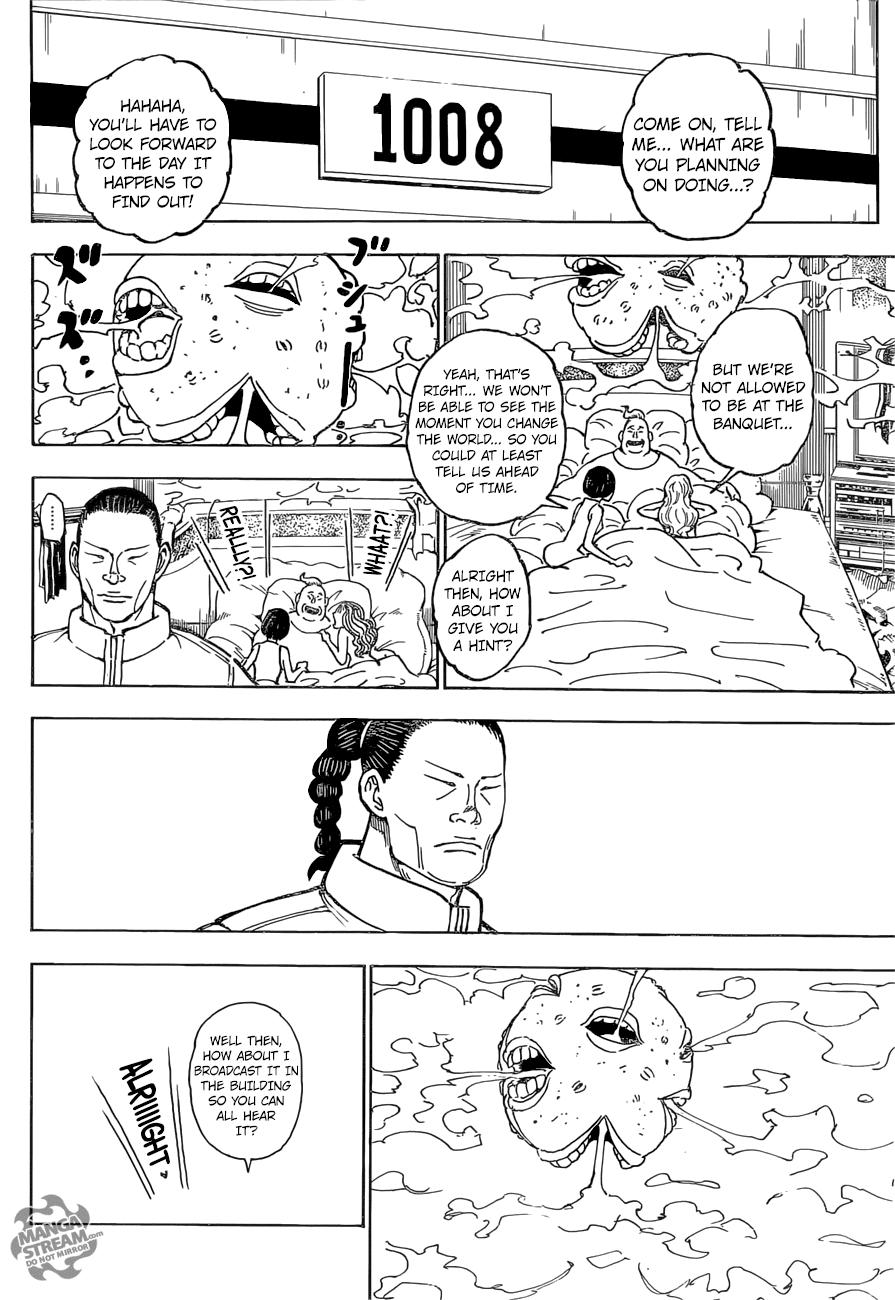 Hunter X Hunter Chapter 372  Online Free Manga Read Image 9