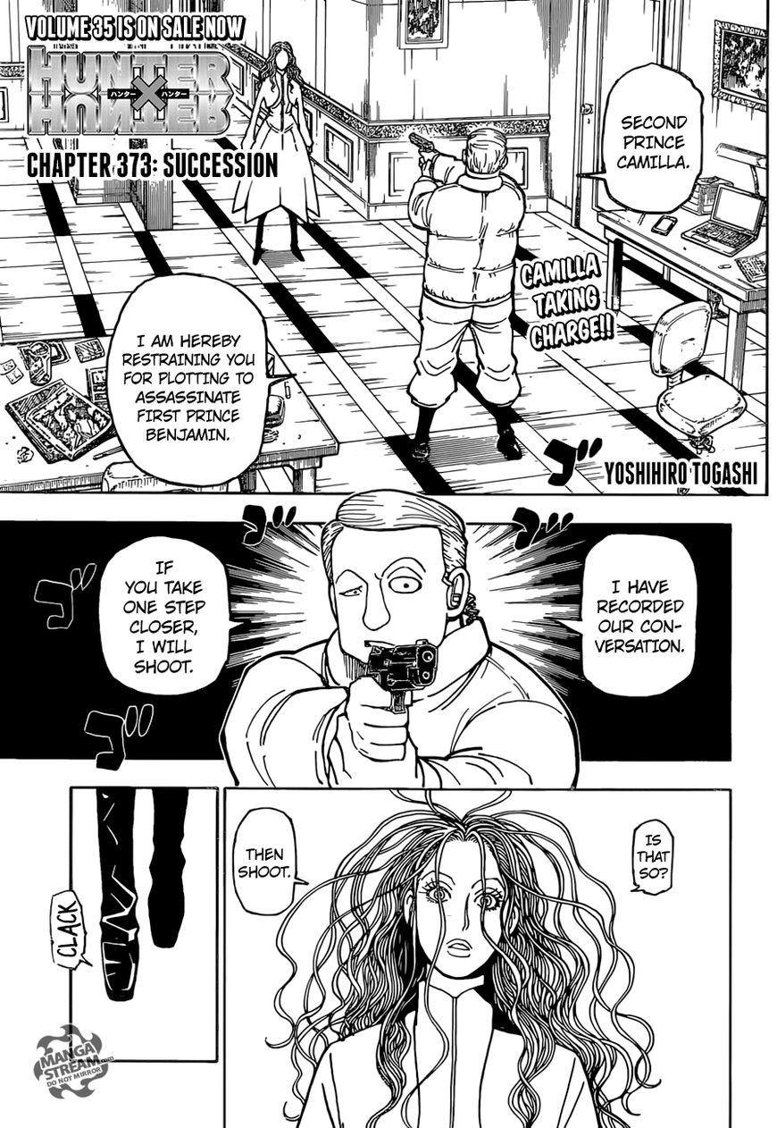 Hunter X Hunter Chapter 373  Online Free Manga Read Image 1
