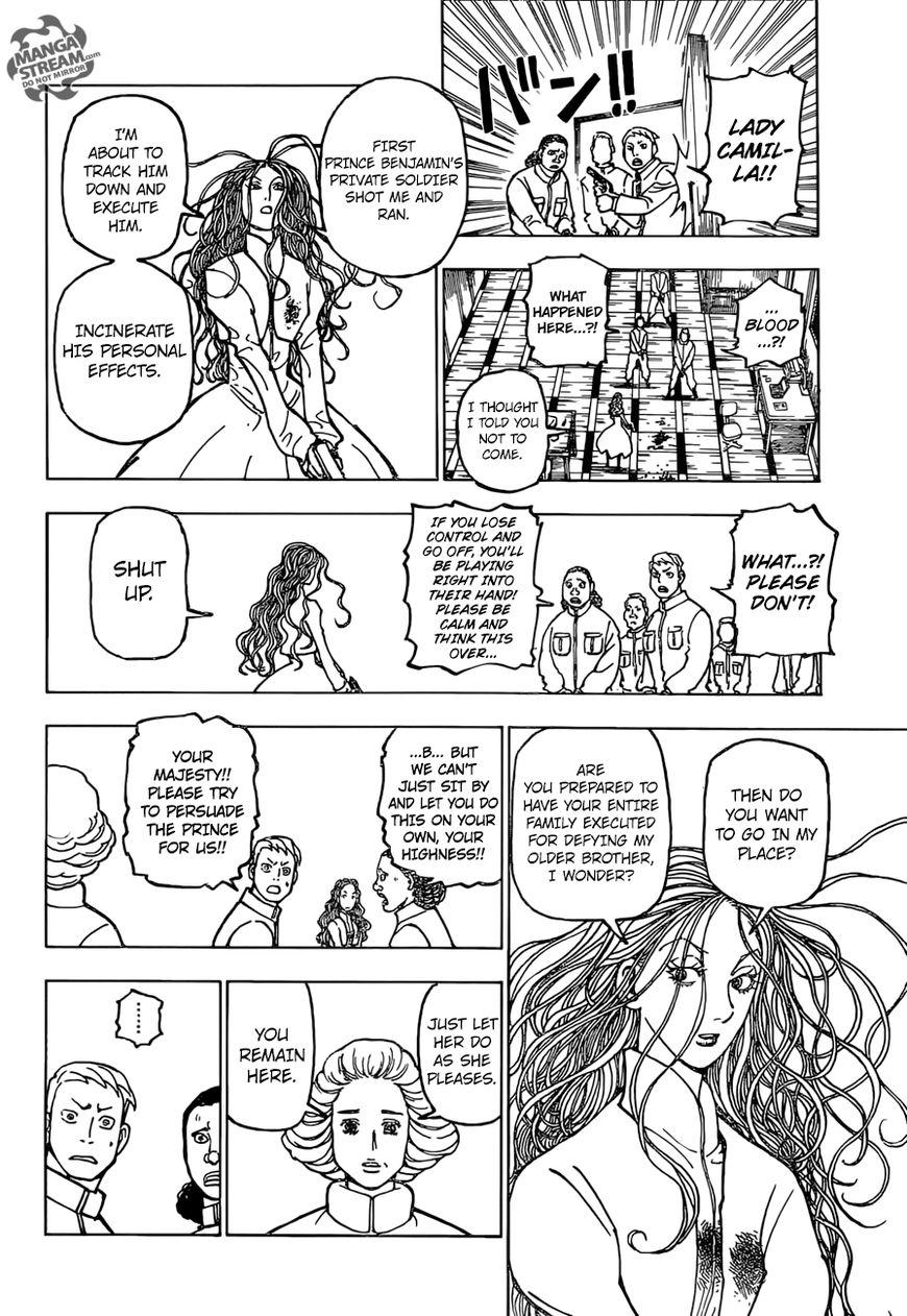 Hunter X Hunter Chapter 373  Online Free Manga Read Image 10