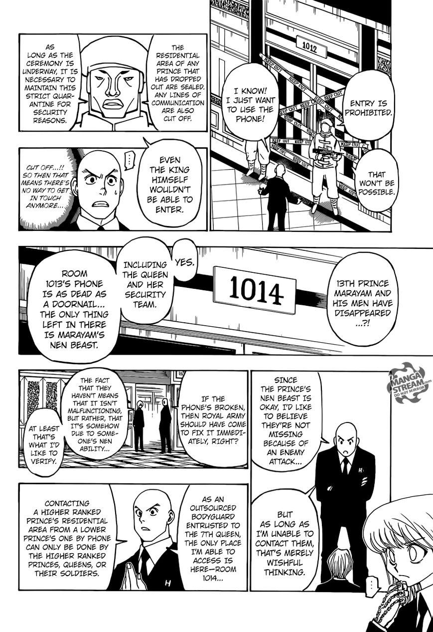 Hunter X Hunter Chapter 373  Online Free Manga Read Image 20