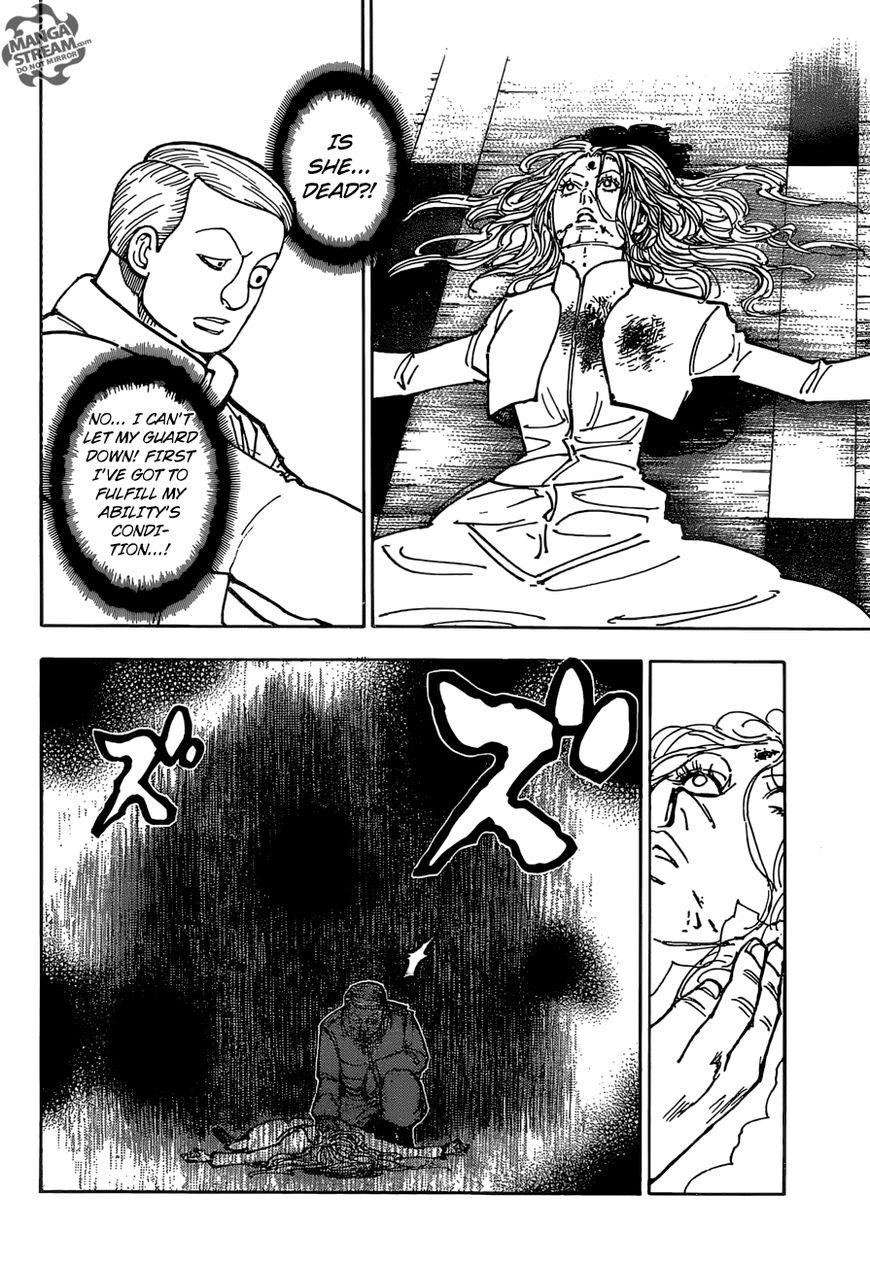 Hunter X Hunter Chapter 373  Online Free Manga Read Image 6
