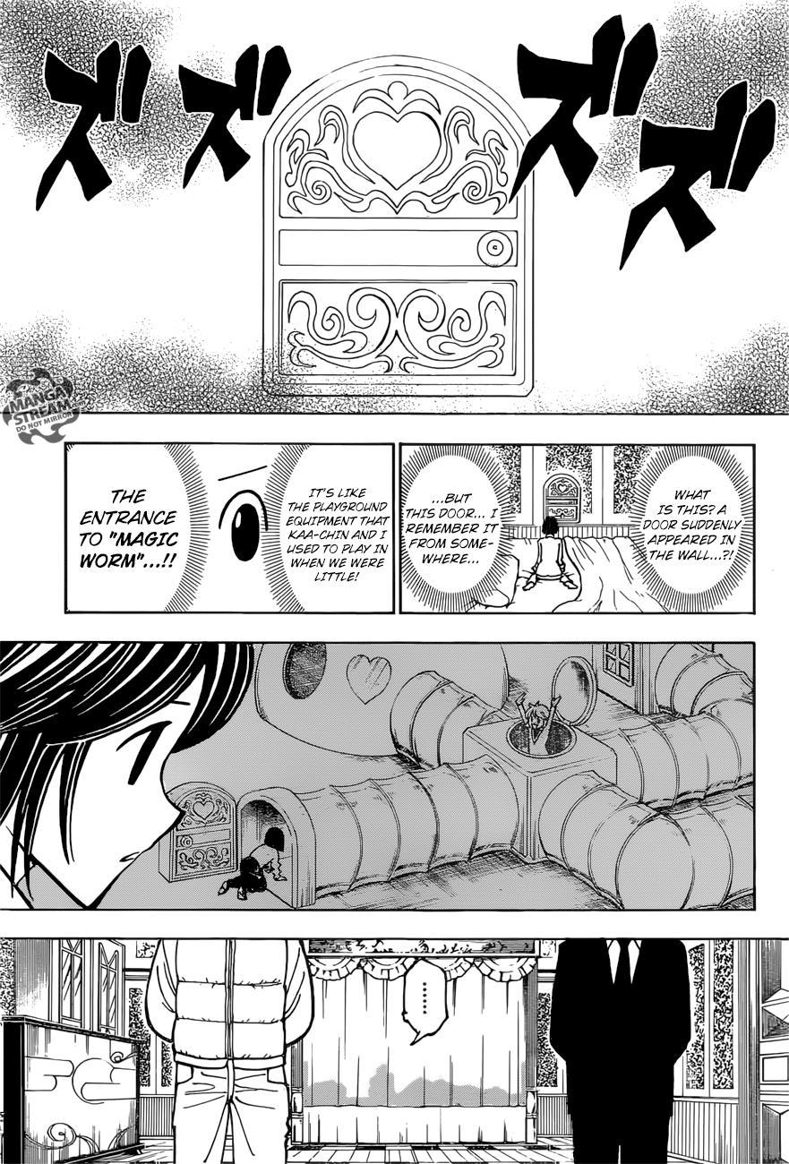 Hunter X Hunter Chapter 374  Online Free Manga Read Image 11