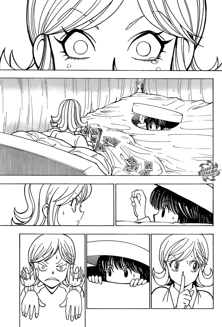 Hunter X Hunter Chapter 374  Online Free Manga Read Image 13