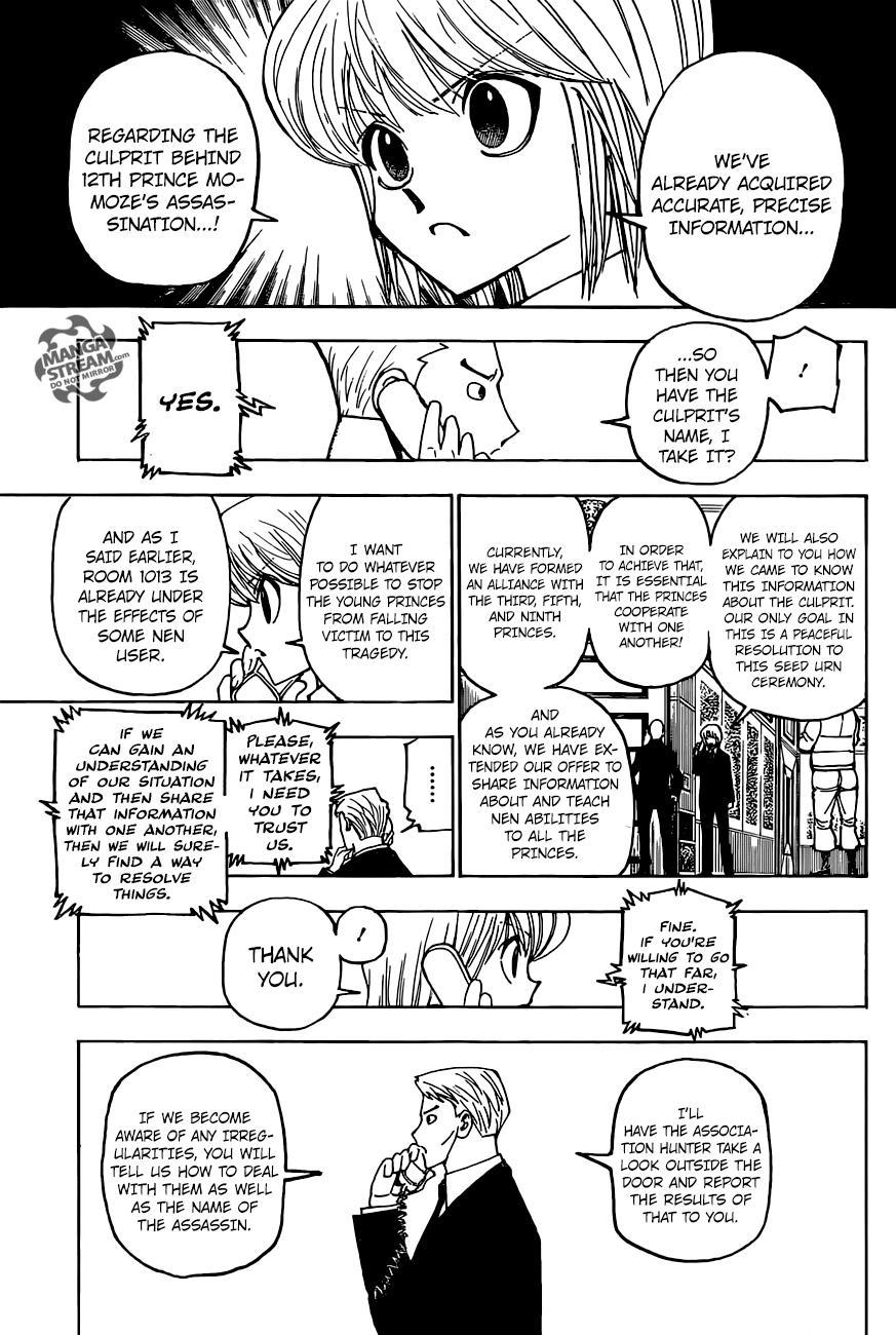 Hunter X Hunter Chapter 374  Online Free Manga Read Image 4