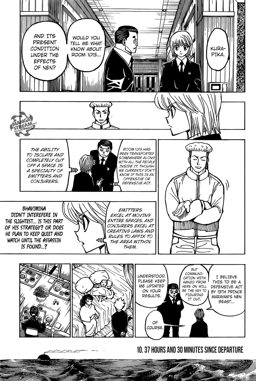 Hunter X Hunter Chapter 374  Online Free Manga Read Image 8