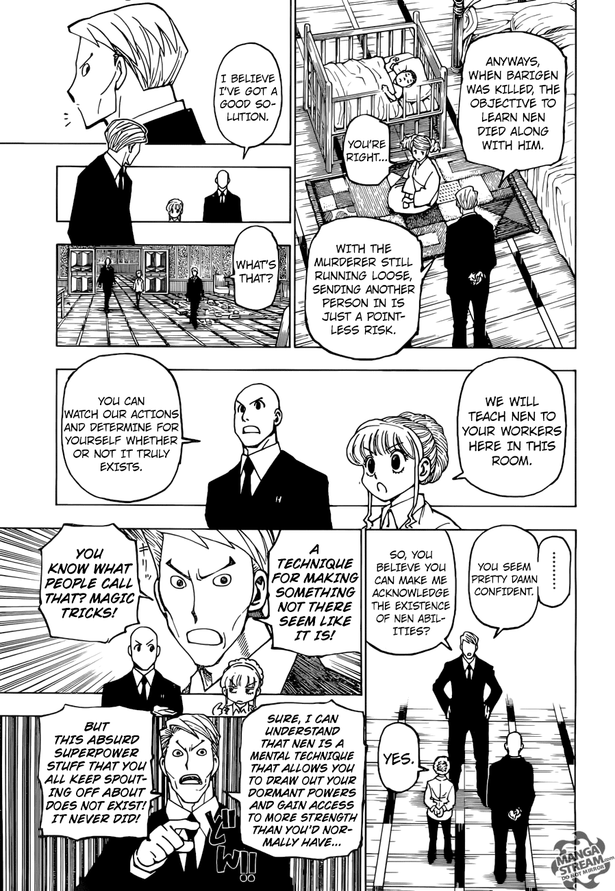 Hunter X Hunter Chapter 375  Online Free Manga Read Image 12
