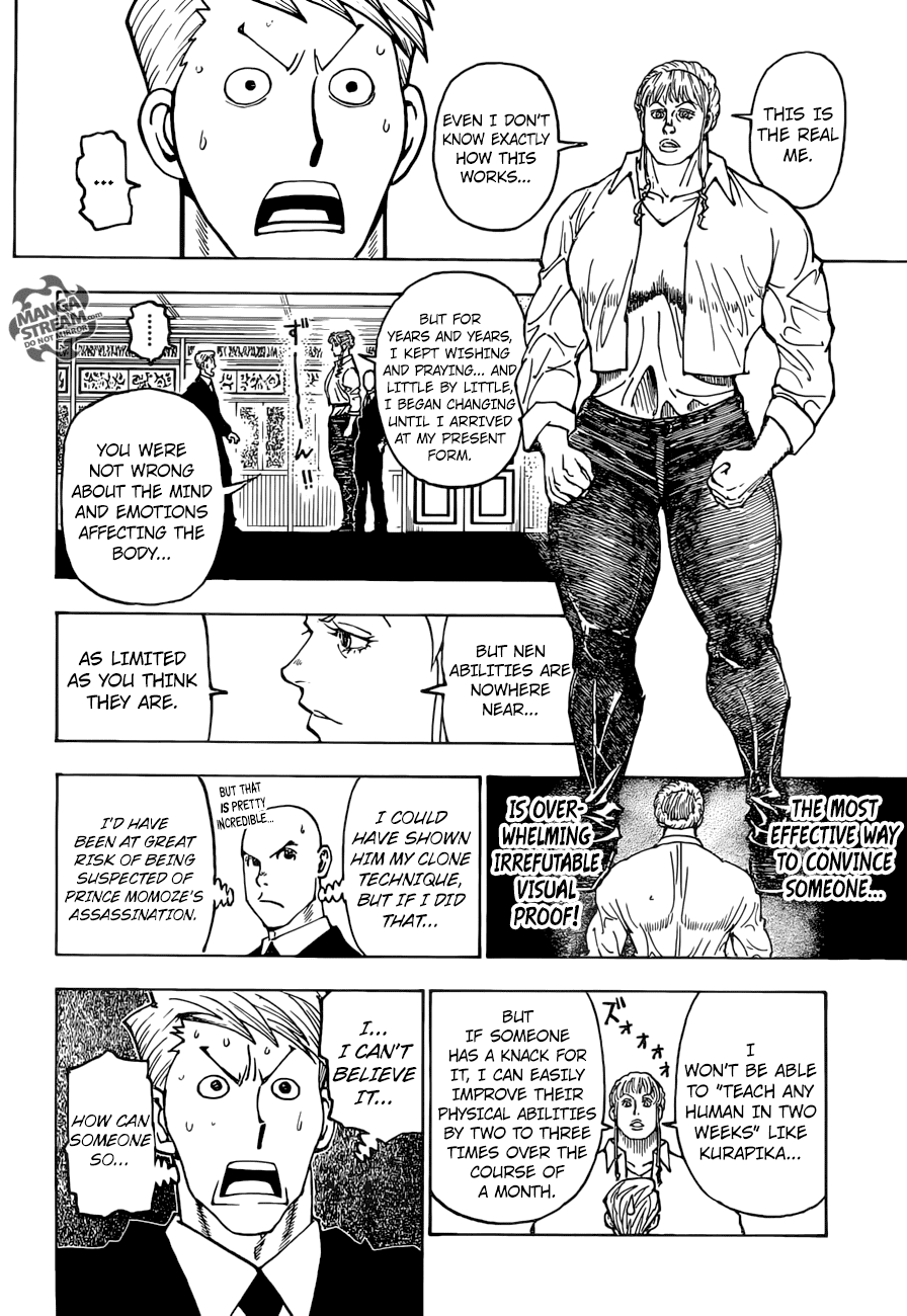 Hunter X Hunter Chapter 375  Online Free Manga Read Image 13