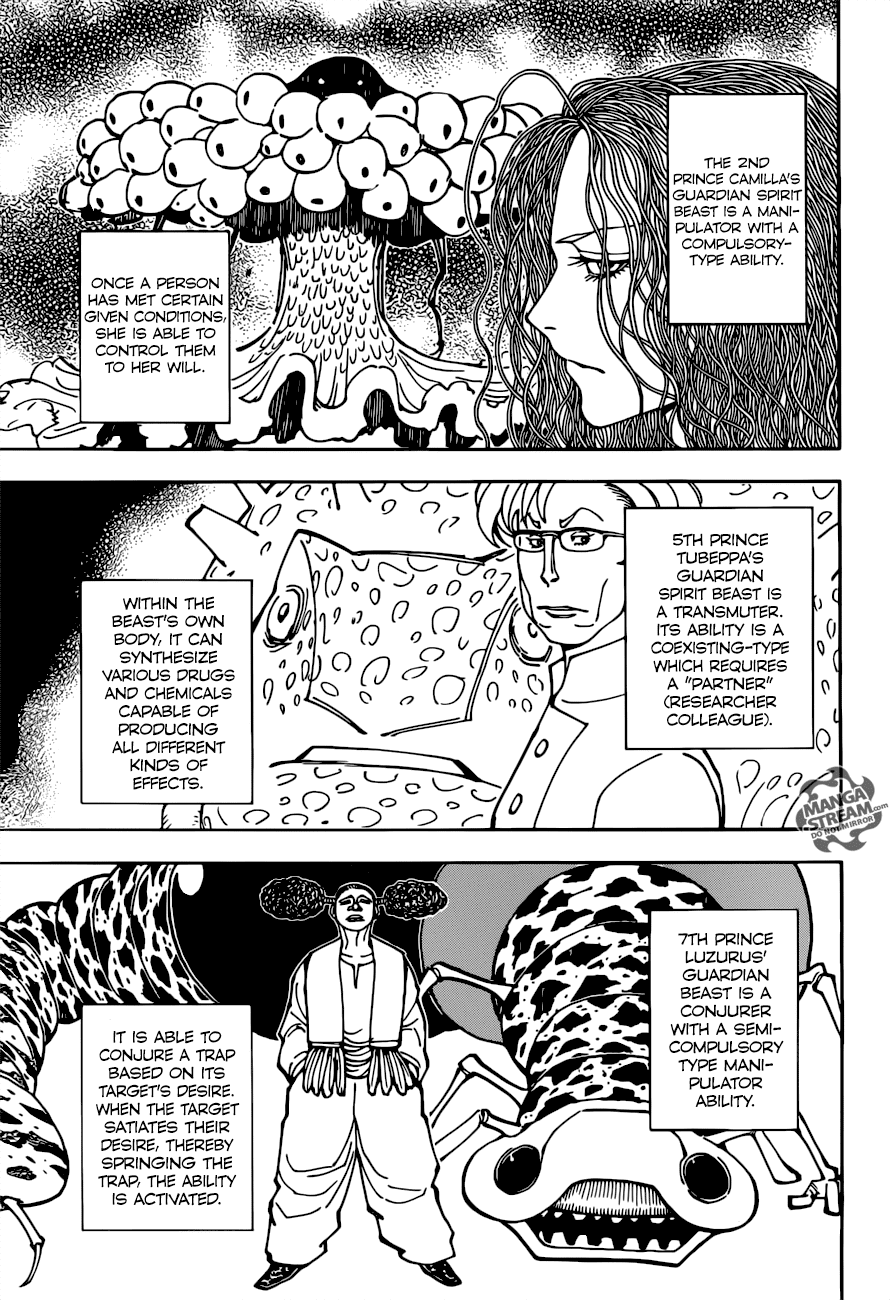 Hunter X Hunter Chapter 375  Online Free Manga Read Image 4