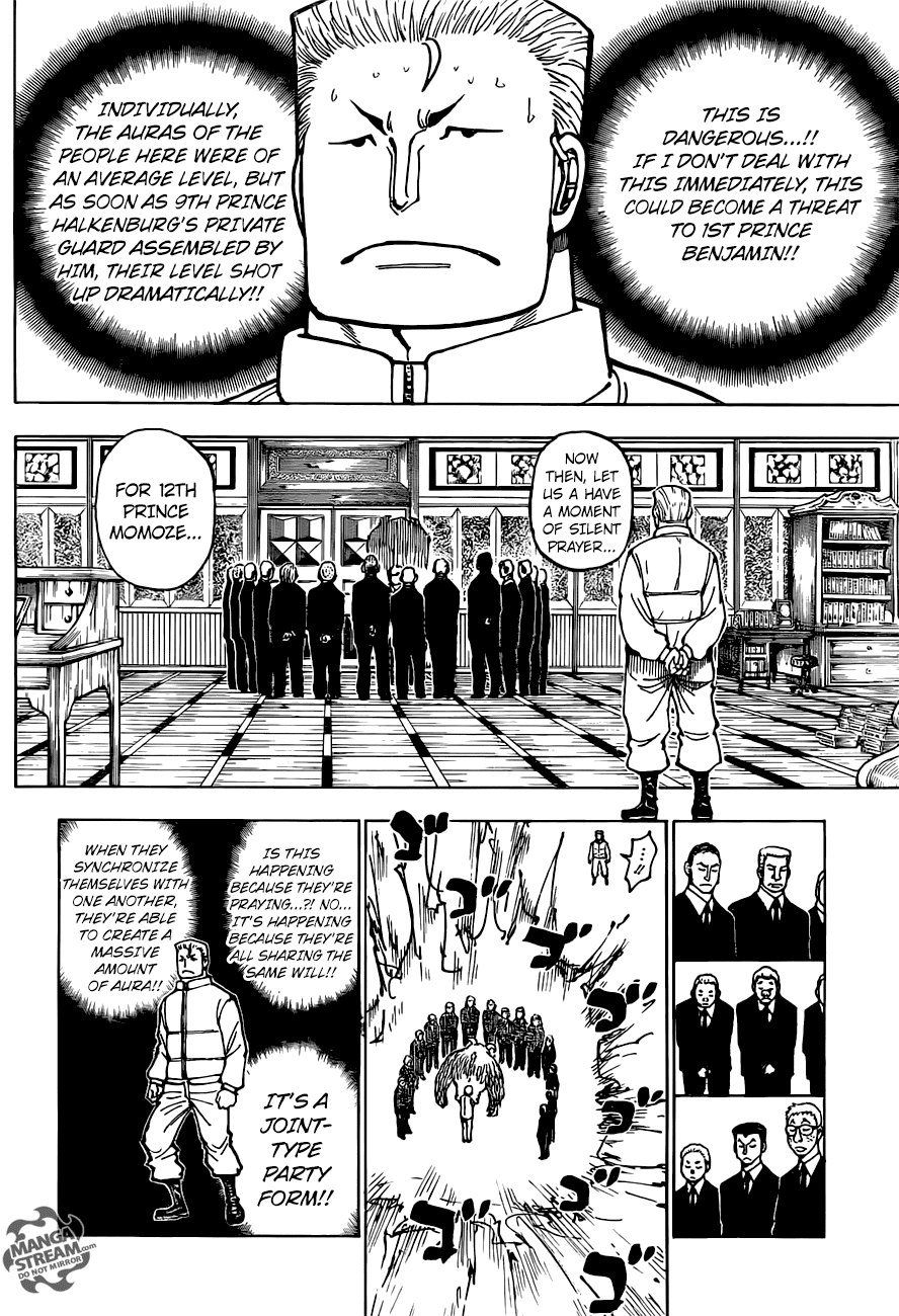 Hunter X Hunter Chapter 375  Online Free Manga Read Image 5