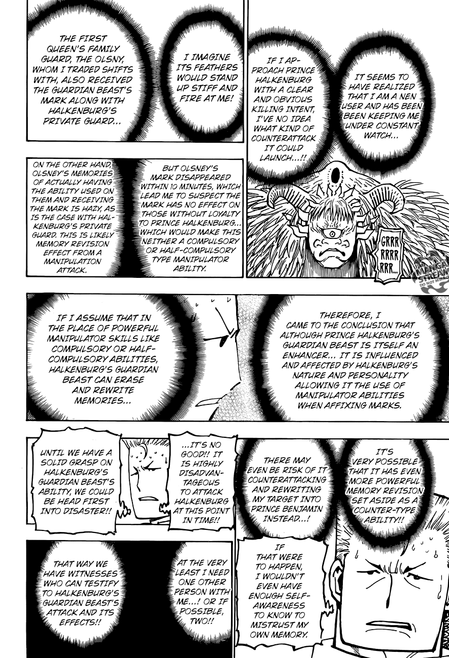 Hunter X Hunter Chapter 375  Online Free Manga Read Image 7