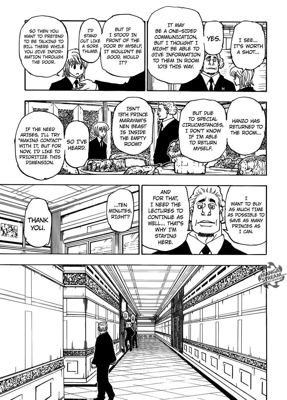 Hunter X Hunter Chapter 376  Online Free Manga Read Image 10