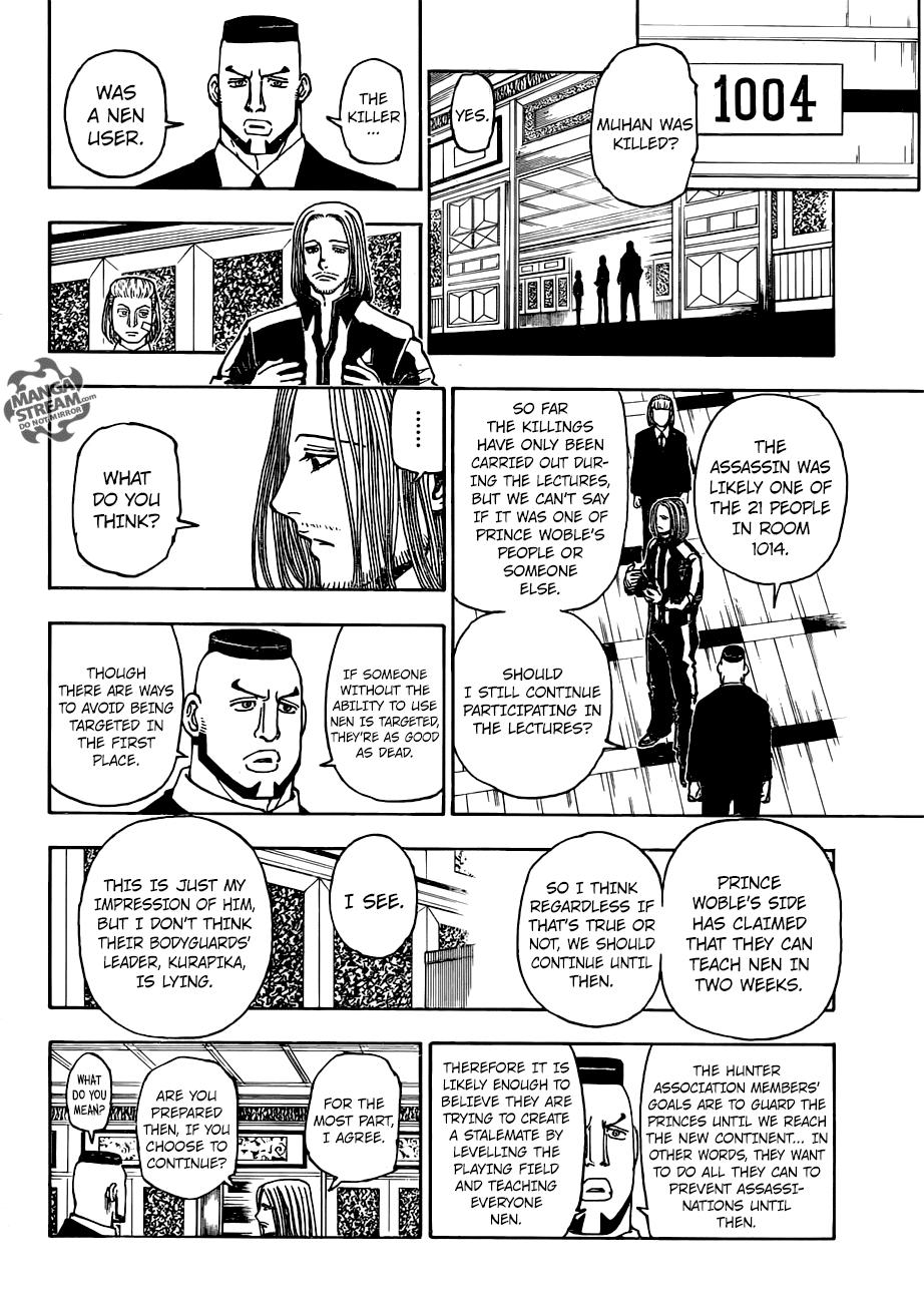 Hunter X Hunter Chapter 376  Online Free Manga Read Image 17