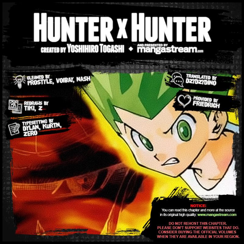 Hunter X Hunter Chapter 376  Online Free Manga Read Image 2