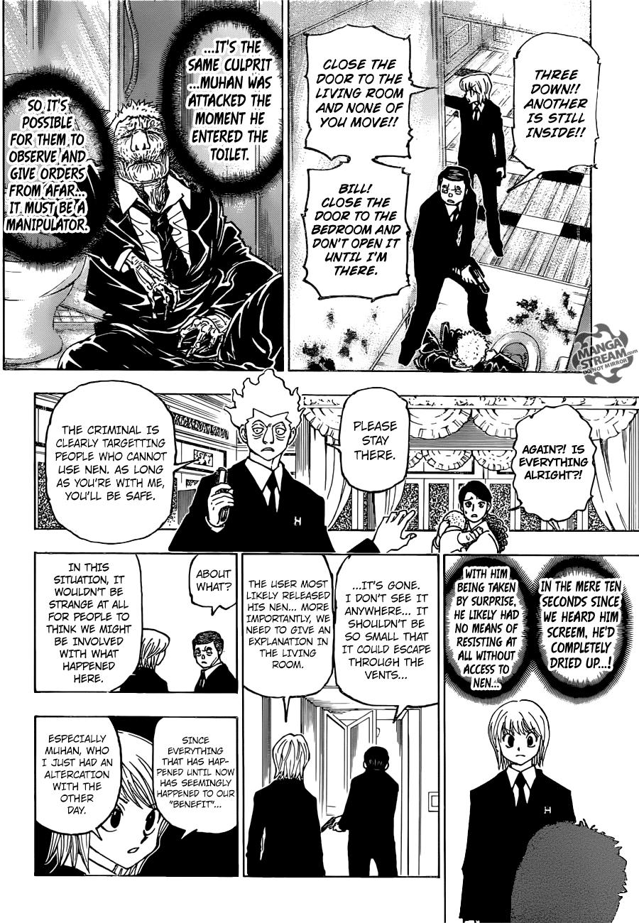 Hunter X Hunter Chapter 376  Online Free Manga Read Image 5