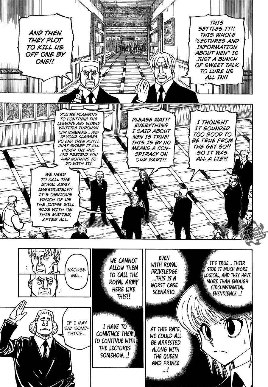 Hunter X Hunter Chapter 376  Online Free Manga Read Image 6