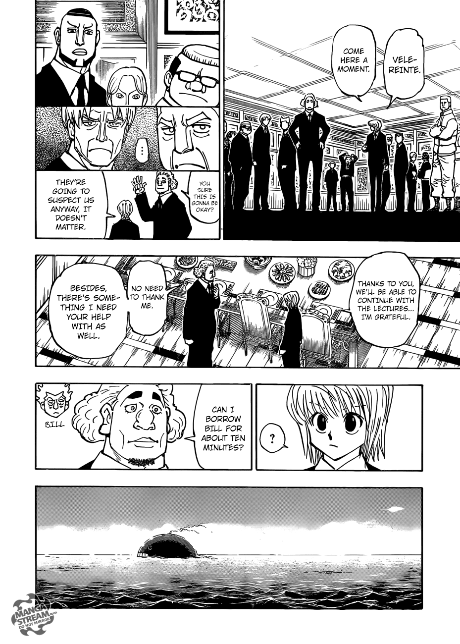 Hunter X Hunter Chapter 376  Online Free Manga Read Image 9