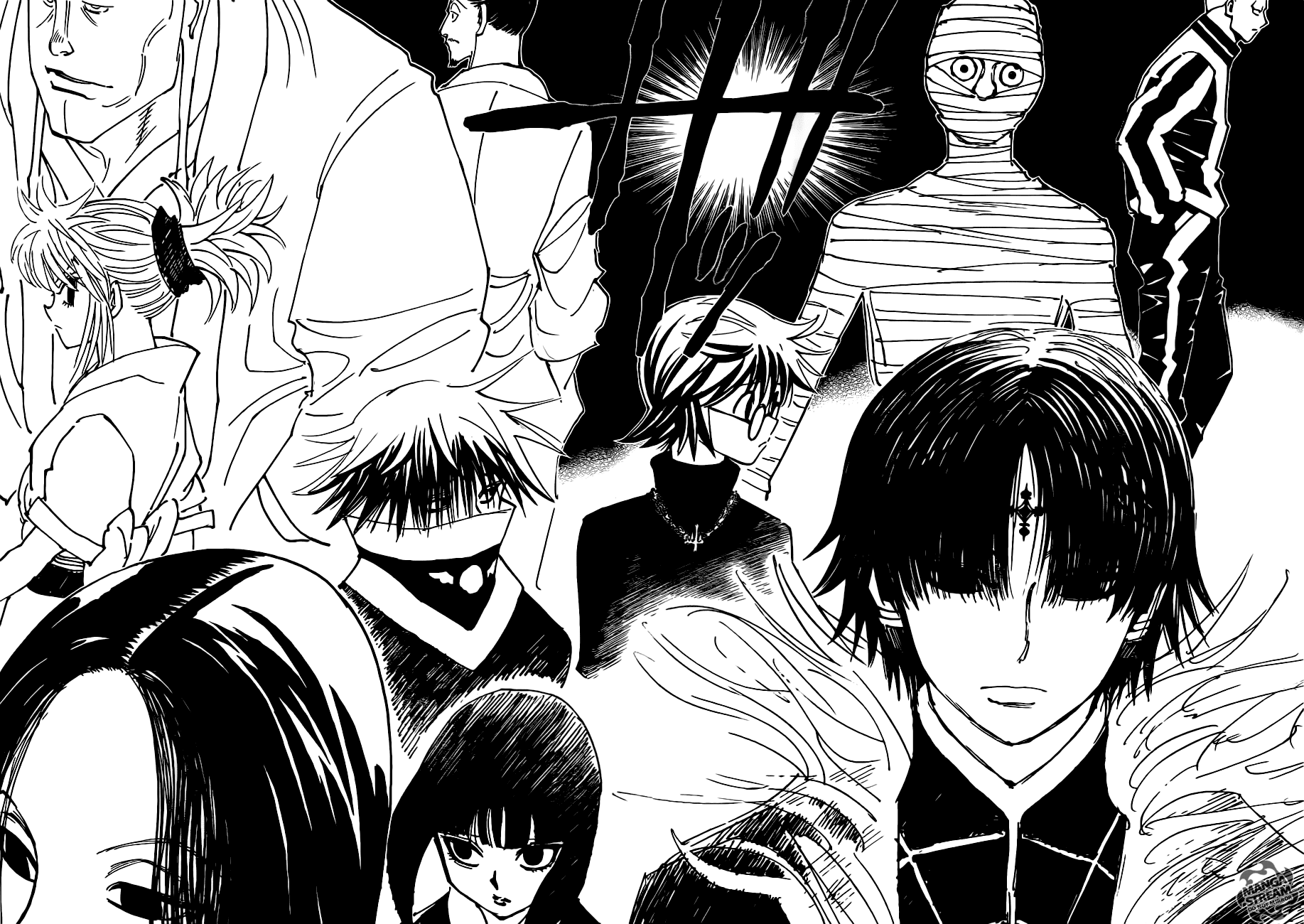 Hunter X Hunter Chapter 377  Online Free Manga Read Image 17