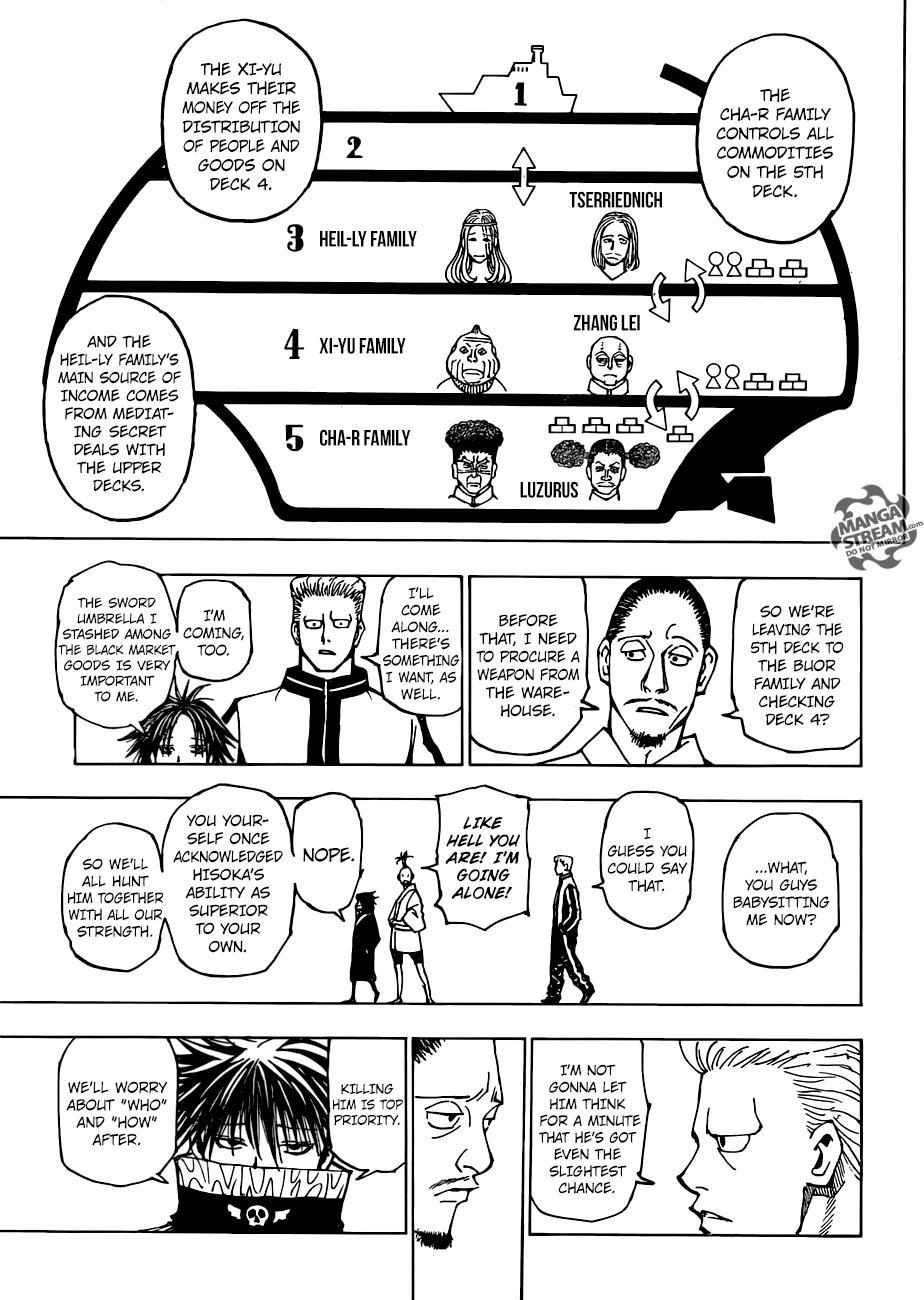 Hunter X Hunter Chapter 378  Online Free Manga Read Image 14