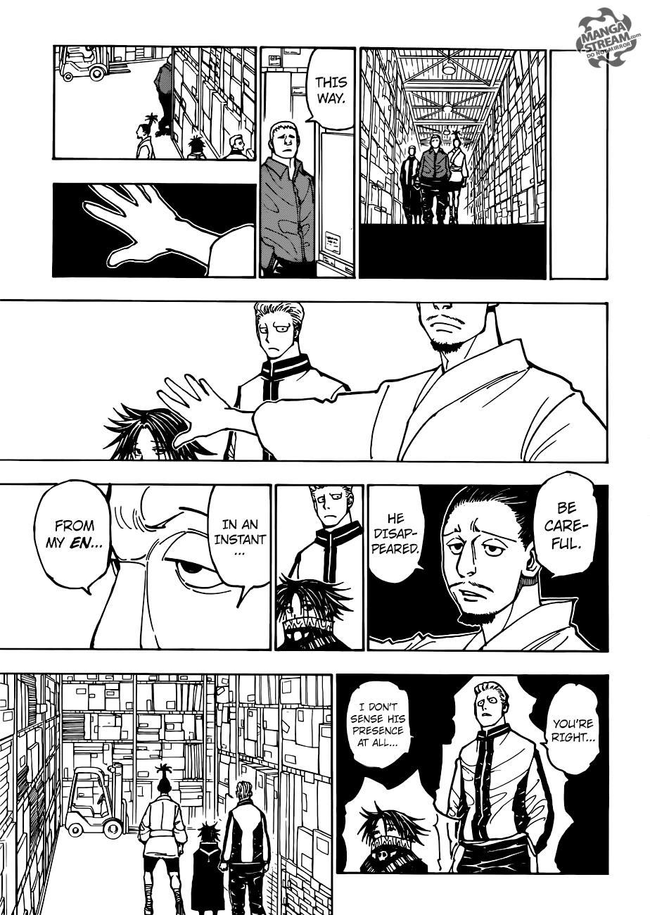 Hunter X Hunter Chapter 378  Online Free Manga Read Image 16